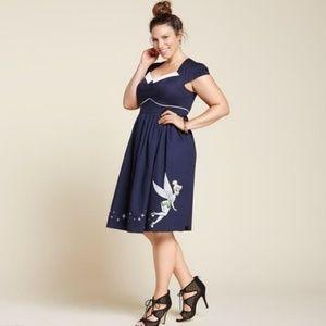 Torrid Disney Tinkerbell Retro Style Swing Dress